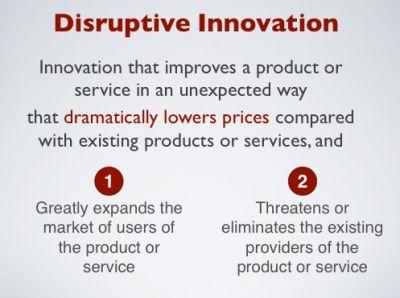 Disruptive Innovation #disruptive