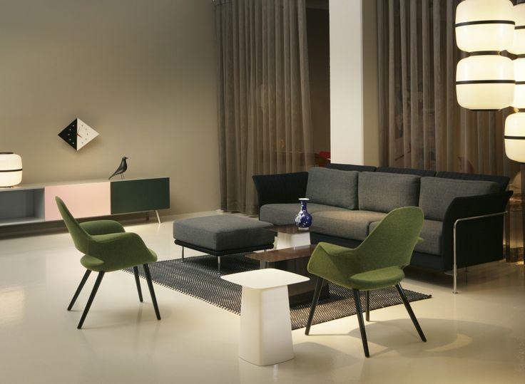 Organic Chair Hersteller Vitra Designer Charles Eames, Eero Saarinen  Einführungsjahr 1940 (Reedition