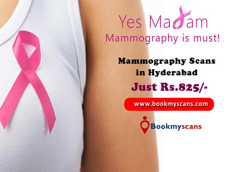 Mammography in Hyderabad @ Just Rs.825/-  Call: 95 85 65 11 77 [Save More than 40%]  Book Appointments: www.bookmyscans.com