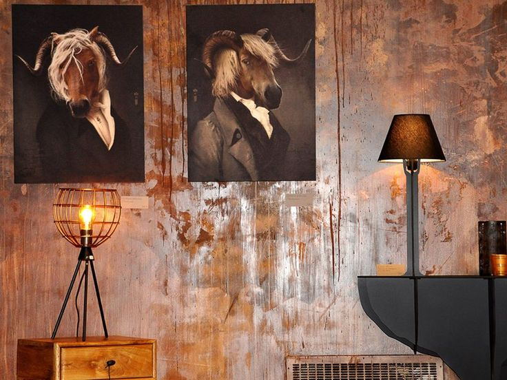 "Rastignac & Chatterton - Limited print series of emblematic images ""Les Dandys"" on matt aluminium by ibride. exclusively on www.ibride-collector.com/ #wall #print #decoration #ibride #framed #animal #painting"