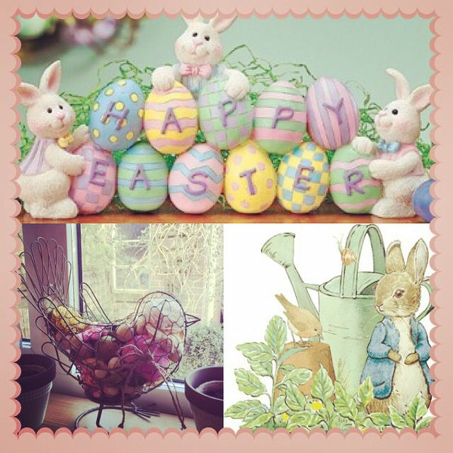 Shabby chic Easter cuteness