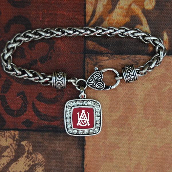Alabama A&M Bulldogs Bracelet, $9.98 from Charming Collectables // cute for gameday!