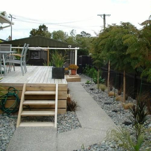 A touch of landscaping - After