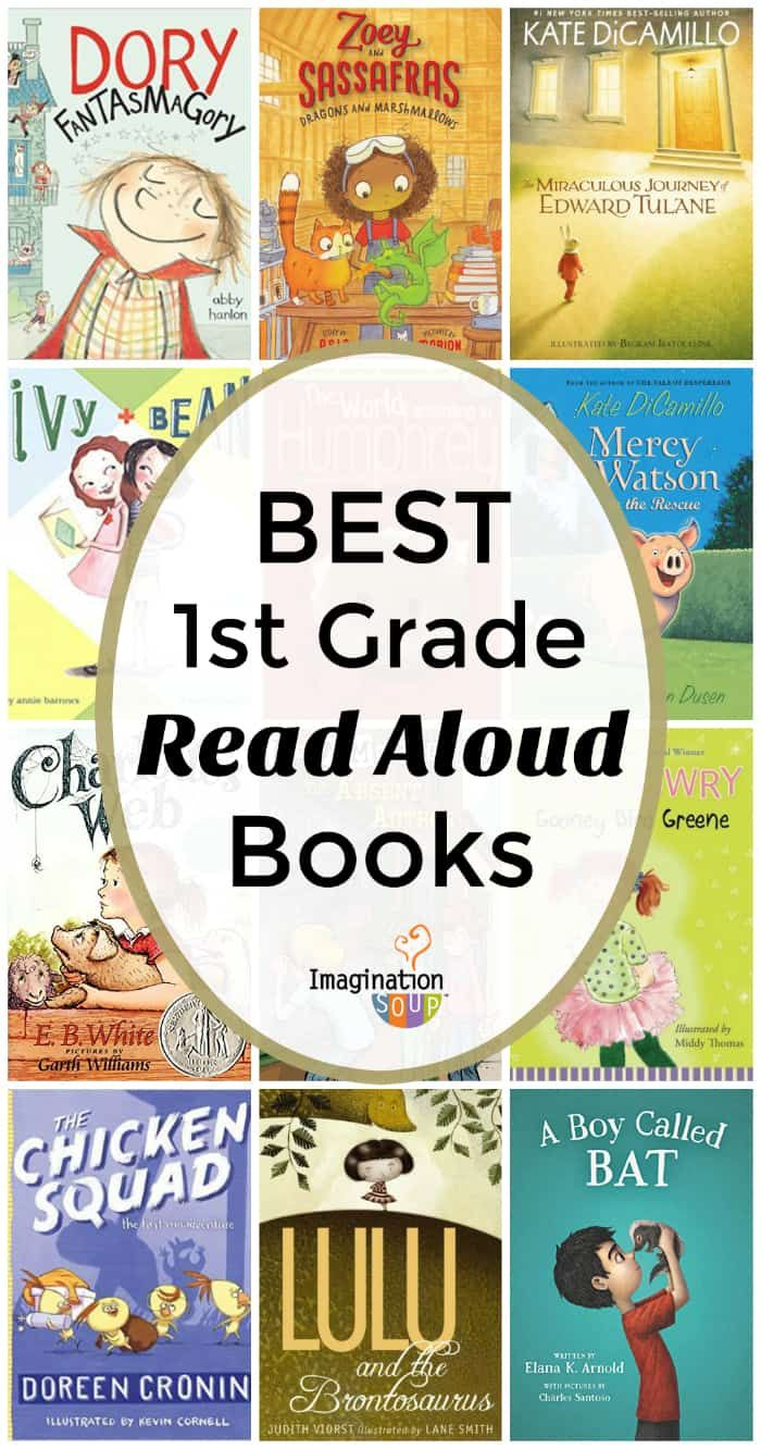 The Best Read Aloud Books for First Grade | Imagination Soup | First ...