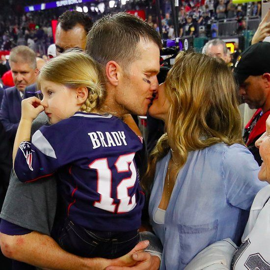 Tom Brady and Gisele Bundchen Super Bowl 2017 Pictures