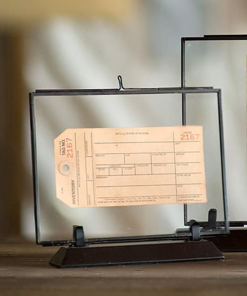 Double Sided Glass Picture Frames 3 Sizes Available