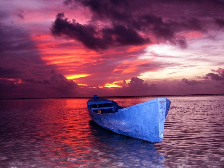 Sunset in Wakatobi, Indonesia