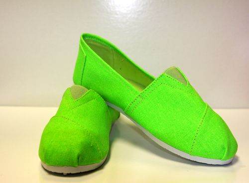 Corky's Lime Green Shoe | LeChic Boutique