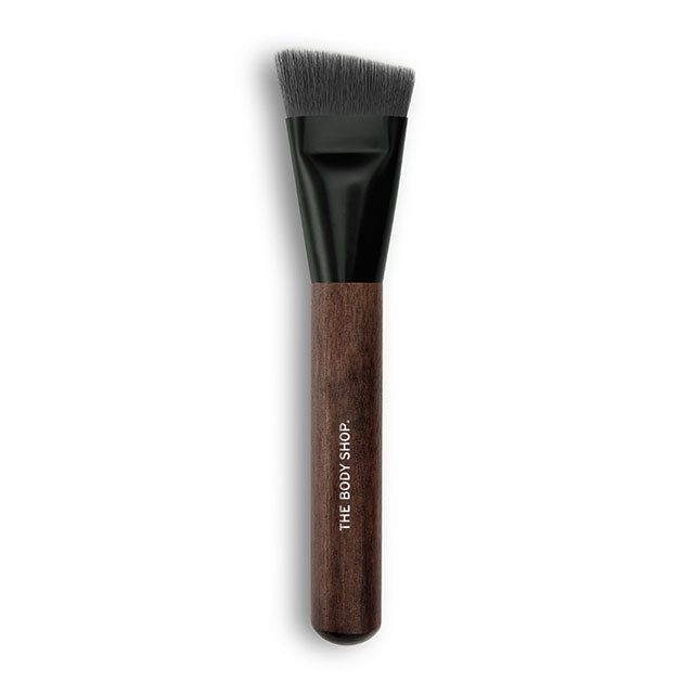 Conquer the contour with this face-defining and blending brush Designed to master the hottest make-up trends and complement our coveted range of essentials, our expert charcoal-coated make-up brushes take your look to the next level. While they might feel softer than a squirrel's tail, fear not. As you'd expect from The Body Shop they're 100% cruelty-free from their synthetic bristles down to their sustainably sourced FSC wooden handles.