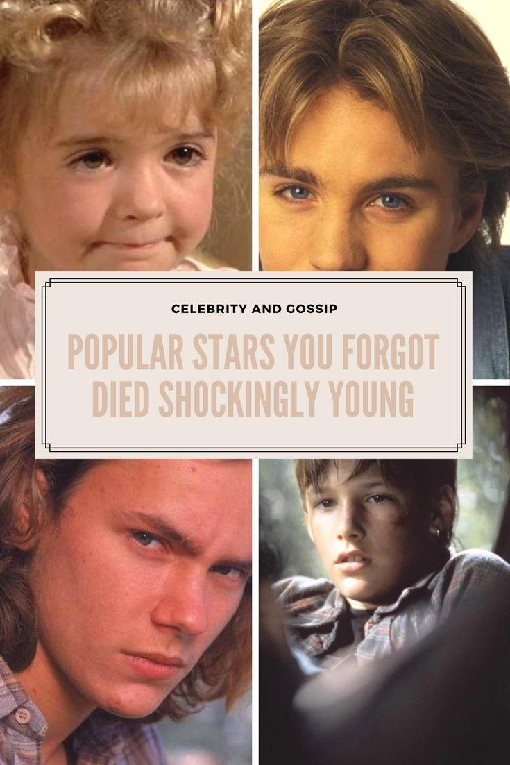 Popular Stars You Forgot Died Shockingly Young
