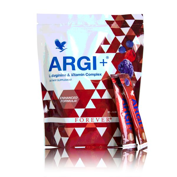 ARGI+ Sticks. Overal en altijd fit  Met ARGI+ kunt u de hele dag doorgaan en levert u optimale prestaties. Argi+ bevat de perfecte mix van het aminozuur L-Arginine en verschillende synergetisch werkende vitamines.  30 sticks à 10 gram