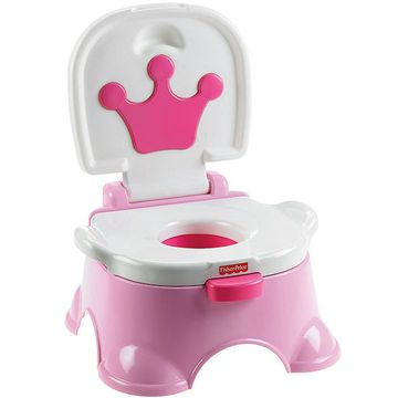 Give your little prince or princess a royal seat to do their business on.    Potty Praise:  Kids will love the four encouraging reward tunes that play when they use the potty. Parents will love the 3-in-1 versatility and big smiles the reward music will bring.    Potty Problem:  The hard plastic seat isn't comfy to sit on for long periods. Also, you have to clean and dry the bowl after each use: If the sensor is already wet, it won't play the reward music for the next time.    Parent…