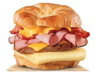 Burger King Adds New Fully Loaded Croissan'wich   Brand Eating