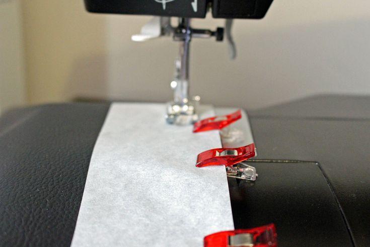couture débutant astuce pour coudre le simili cuir