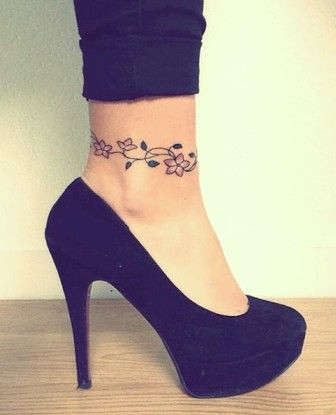 Tattoos that Wrap the Ankle Perfectly                              …