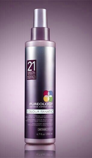 All our stylists here at Castello are raving about Pureology's NEW multi-tasking hair beautifier, Colour Fanatic! Why? Because it has 21 essential benefits to prime, protect, and perfect color-treated hair and it features the exclusive AntiFadeComplex! Come into Castello for a shampoo and style to try out this fantastic new product. And you fall in love with it as much as we did we also have it available to purchase! WARNING: May cause obsessive behavior ;)