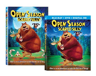 Susan Heim on Parenting: Open Season: Scared Silly ~ a New Movie on Blu-ray and DVD! Giveaway for a $25 Visa Gift Card and DVDs of Open Season 1, 2 and 3