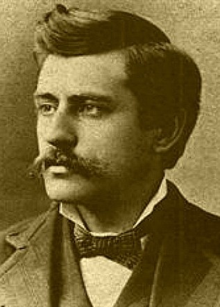 Morgan Earp (1851-1882) shot and killed playing pool at Campbell and Hatch's Saloon in Tombstone. Buried at Hermosa Cemetery in Colton, California.