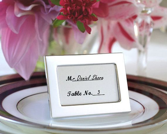 12 best place card holder frames images on Pinterest | Wedding ...