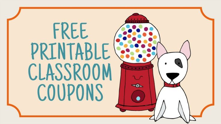 You don't have to spend any money to motivate or incentivize your students. Instead, use our printable classroom coupons!