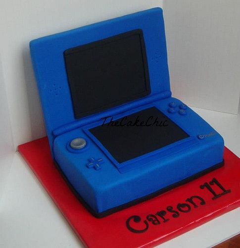 Nintendo DS Cake- this is one is perfect-but looks super hard to make