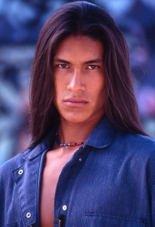 Handsome Native American Guy. Ladies attention!! NEVER date a guy that's prettier than you. He is perfect, and that's a cool thing. But I would never ever date him. Like he would give me the time! lol. The cool thing is girls DO check out guys as well, and its ok.