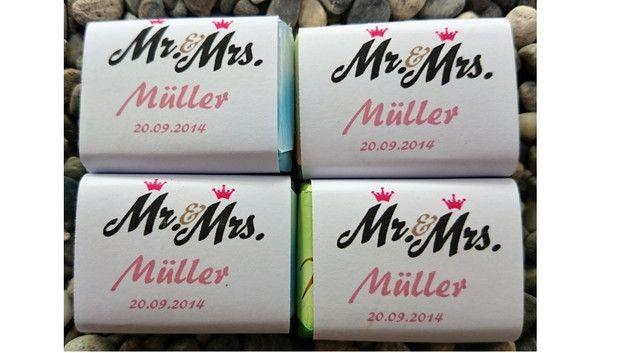 Für jeden Anlass individuelle Schokoladentäfelchen speziell für Deinen Anlass sortiert in 7 Geschmacksrichtungen FREY SCHOKOLADE 7g Geschmacksrichtungen: Milchschokolade, Haselnussspilitter,...