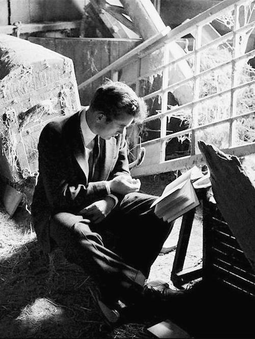 James Dean photographed by Dennis Stock, Fairmount, Indiana, 1955