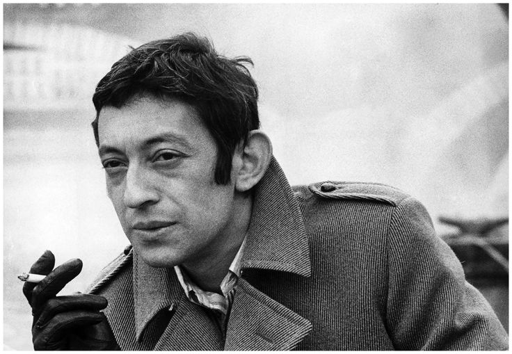 Jean d'Hugues - Serge Gainsbourg, 1968 #60s #1960s #vintage #photography