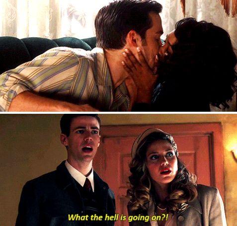 "#TheFlash 3x17 ""Duet"" - Mon-El, Iris, Barry and Kara"