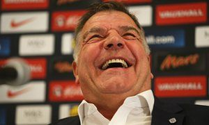 Sam Allardyce: far too early to say if Wayne Rooney will remain England captain