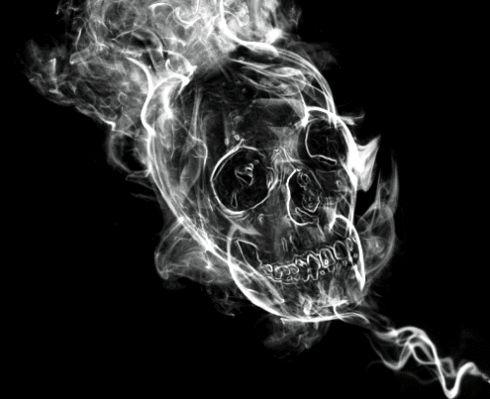 Such a mystical delight. More Skull Gifs http://skullappreciationsociety.com/more-skull-gifs/ via @Skull_Society