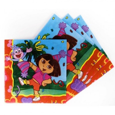 Que servilletas más saladas, a juego con el resto de articulos para fiesta de Dora la Exploradora que puedes ver en nuestra tienda http://www.articulos-fiestas-infantiles.es/288-fiesta-cumpleanos-dora-la-exploradora