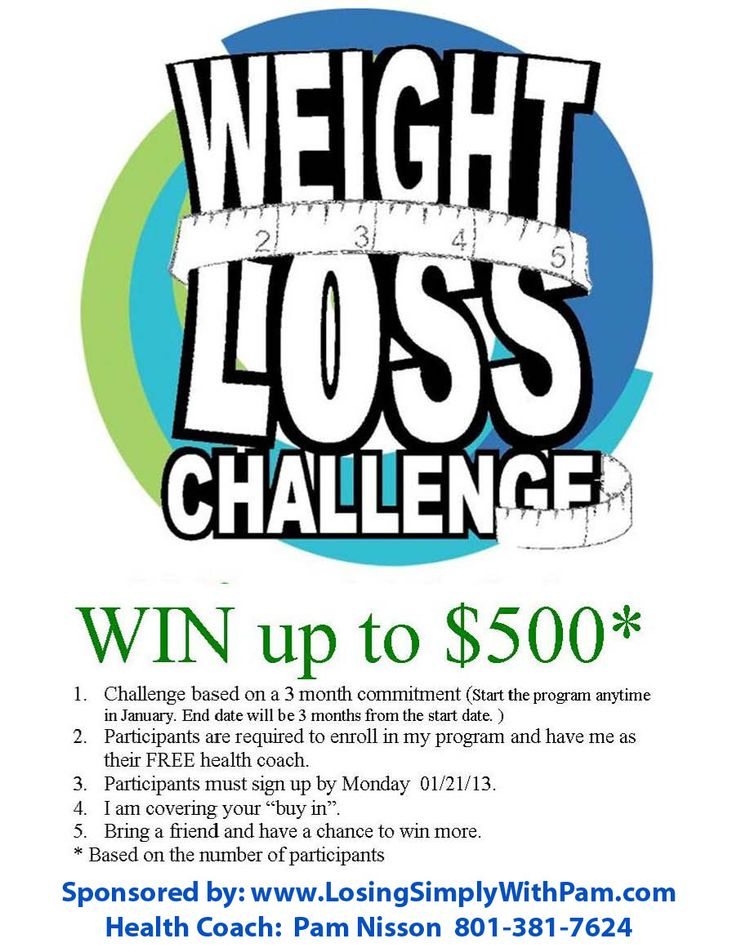 ideas for weight loss contest