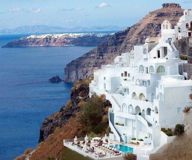 Santorini island,Greece