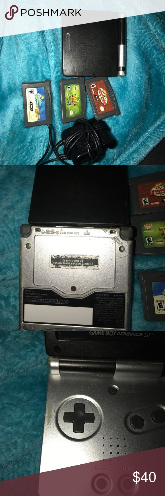 Game boy advance sp Has lots of wear but other then that everything's my is functional.offers accepted Nintendo Other