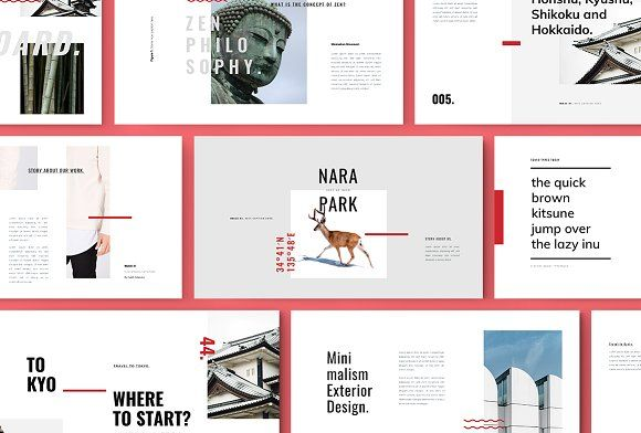 ROKA - Powerpoint Template by TempLabs on @creativemarket