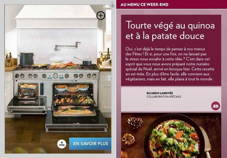 Tourte végé au quinoa et à la patate douce - La Presse+