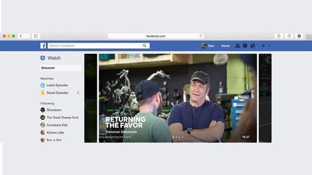 Watch, ecco la piattaforma TV secondo Facebook Di tanto in tanto, nel corso dei mesi, abbiamo parlato di come Facebook volesse diventare una media company, stringendo accordi qui e là, varando applicazioni apposite, puntanto allo streaming sulle  #facebook #tv #show #watch #social