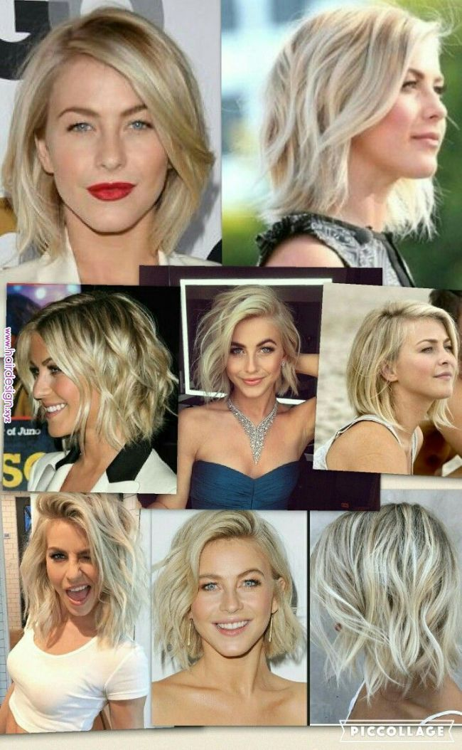 Julianne Hough Bob Hair Pinterest Julianne Hough Bob Ruffled Hairstyle Bob Hair Ha In 2020 Julianne Hough Short Hair Bob Hairstyles Haircuts For Wavy Hair