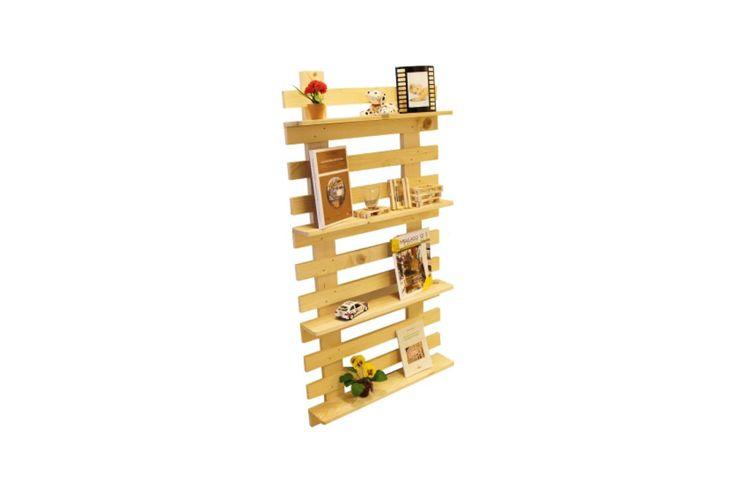 Libreria da parete in abete : Shelves by Arredamento Pallets Design