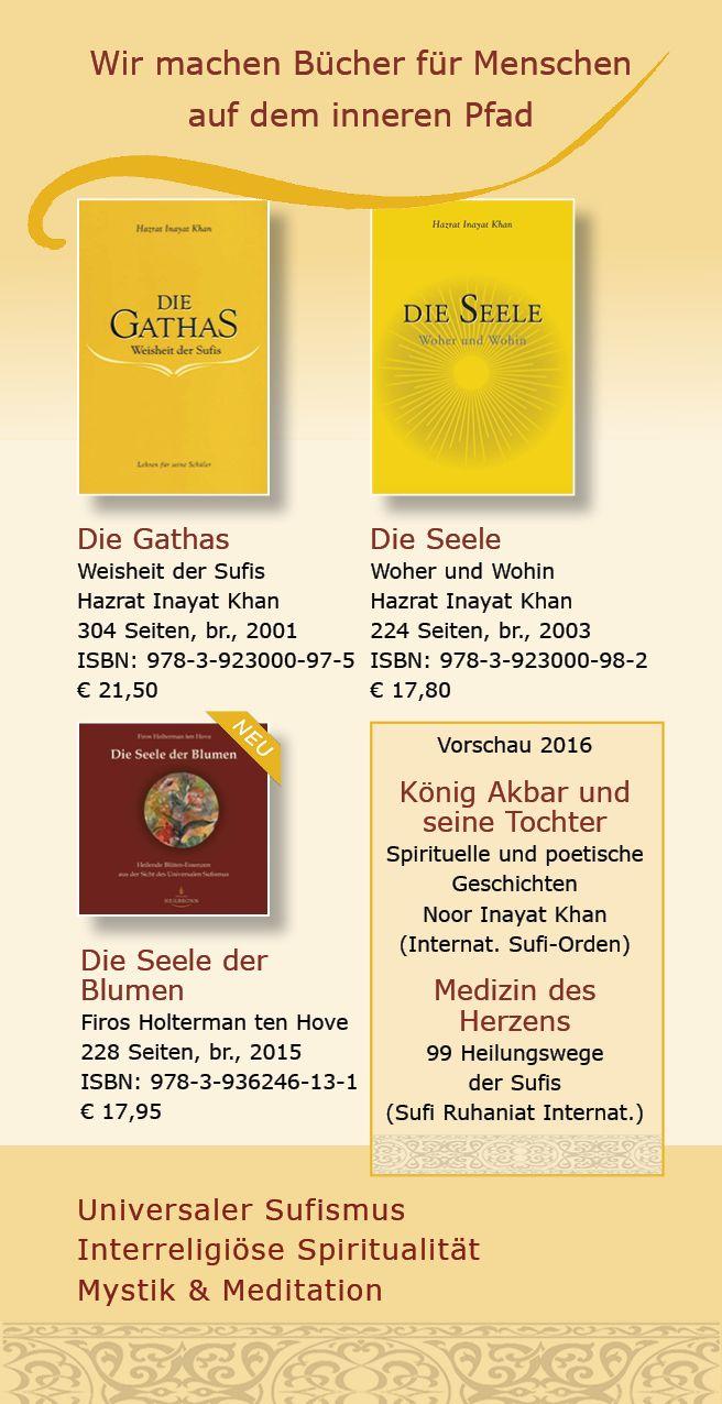 Inspirational Katalog vom Verlag Heilbronn Seite Sufib cher Universaler Sufismus Die Sufi