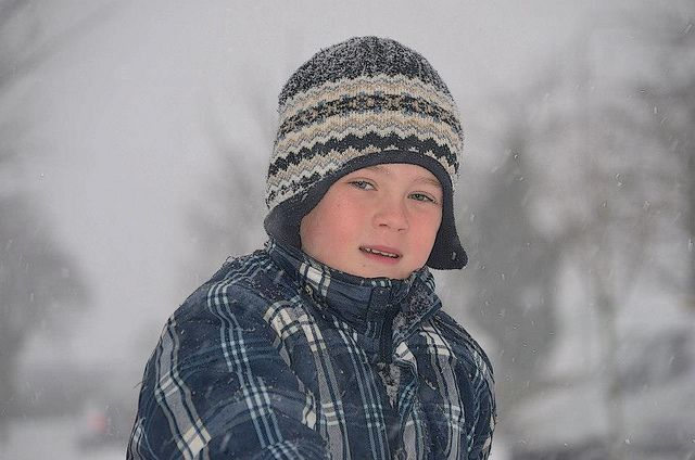 Boy in a winter day by Sillalai_Rozzi, via Flickr