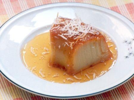 Pudim de Batata-doce com Coco - Veja como fazer em: http://cybercook.com.br/receita-de-pudim-de-batata-doce-com-coco-r-7-9406.html?pinterest-rec