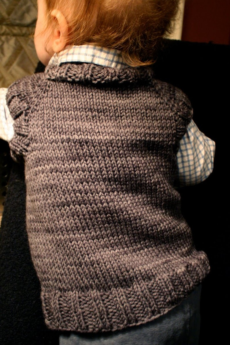 sam lamb: toddler t-shirt vest *Free Pattern