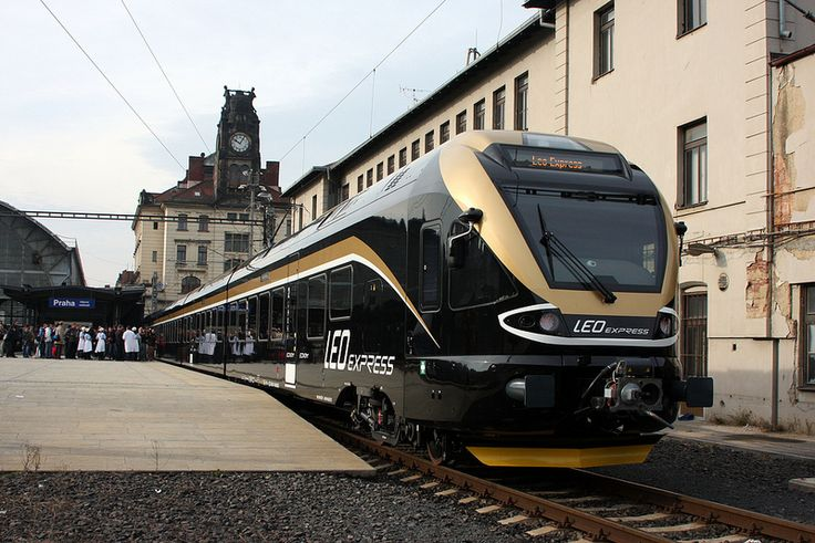 Our first unit Leo Express in Prague