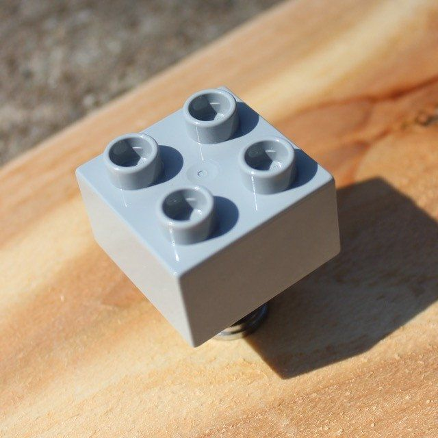 Wonderful LEGO Drawer Knobs   Cabinet Knobs In Light Grey