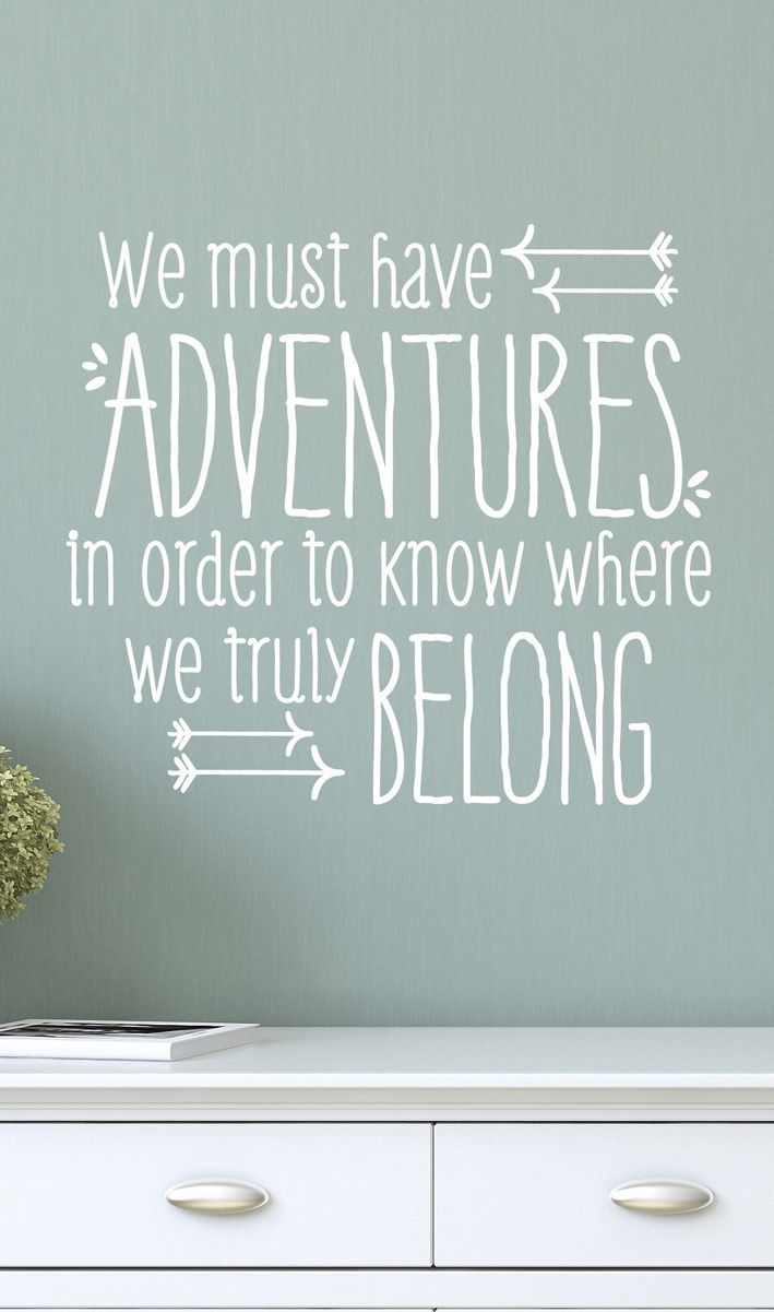Have an adventure, then tell your grand kids about it when you are done.