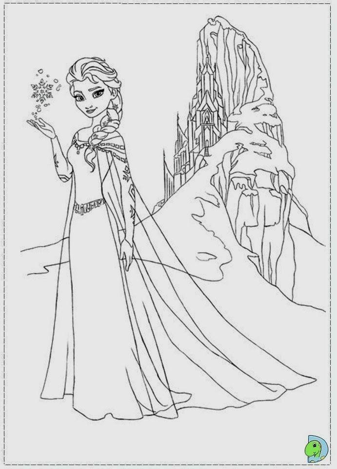 frozen 12 Frozen Disney para colorir   Princesa do Gelo