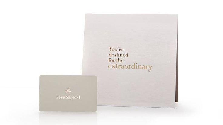 Four seasons hotels resorts card gift card